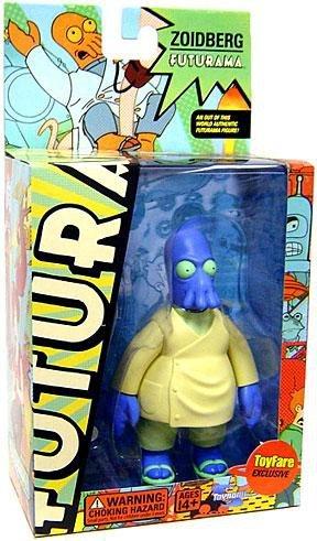 Toynami Futurama Dr. Zoidberg Exclusive Action Figure [Universe B Parabox, Blue Version] -