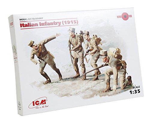 ICM Models 1/35 Italian Infantry 19 Model Kit