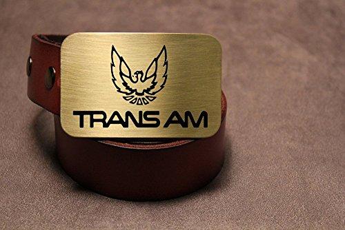 Trans Am PONTIAC FIREBIRD Etched Metal Belt Buckle