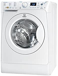 Indesit PWE 81271 W (EU) Independiente Carga frontal 8kg 1200RPM A Color blanco - Lavadora (Independiente, Carga frontal, A, B, Color blanco, Izquierda)