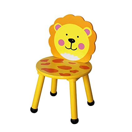 Amazon.com: TLMY Childrens Table and Chair Cartoon Toy Chair ...