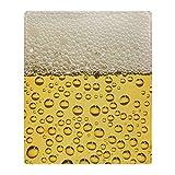 """CafePress Beer Bubbles Soft Fleece Throw Blanket, 50""""x60"""" Stadium Blanket"""