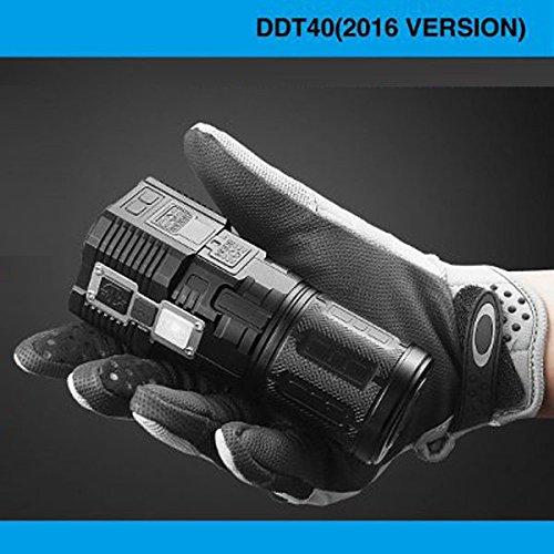 Bazaar IMALENT DDT40 2016 4xXML2 5180lm Multi-Funktions-Suche LED Taschenlampe