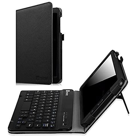 Fintie Samsung Galaxy Tab E 8.0 Keyboard Case, Slim Fit Folio PU Leather Case Cover with Detachable Magnetical Bluetooth Keyboard for Samsung Galaxy Tab E 8.0 Inch Tablet, (Samsung Galaxy Tab Cases 8 Inch)