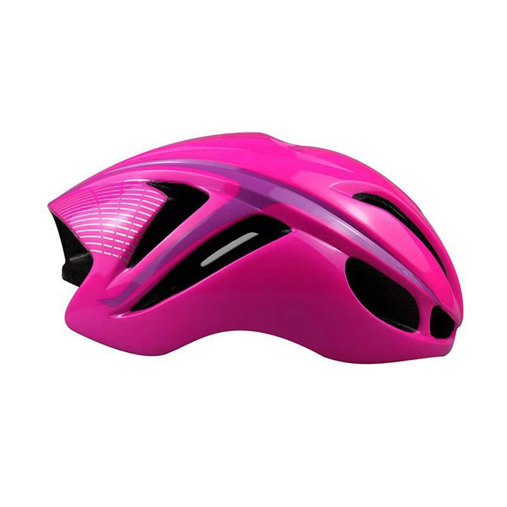 大人用ヘルメット一体型成型ユニセックス3Dライディング山自動車内蔵型車用ヘルメットヘルメット、頭囲57-62cmカラーに適しています (色 : Pink, UnitCount : 2) B07KS2CX3L 2|Pink Pink 2