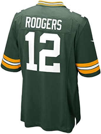 Nike Youth Green Bay Packers Aaron Rodgers #12 Home Green Football Jersey NFL (X-Large, Green)