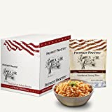Patriot Pantry Southwest Savory Rice Case Pack (32 servings, 4 pk.) Bulk Emergency Storage Food Supply, Up to 25-Year Shelf Life