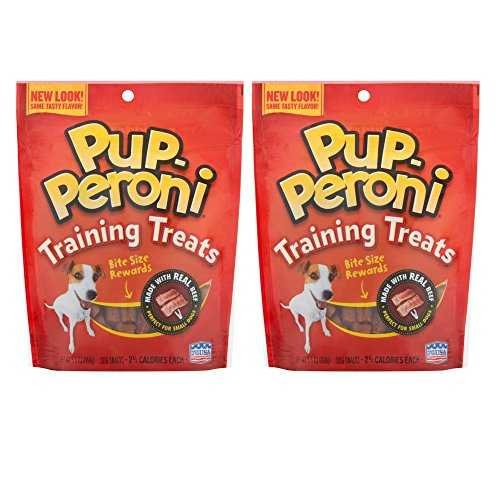 51g7S78xO0L - Pup-Peroni Training Treats, 5.6oz (2 Pack)