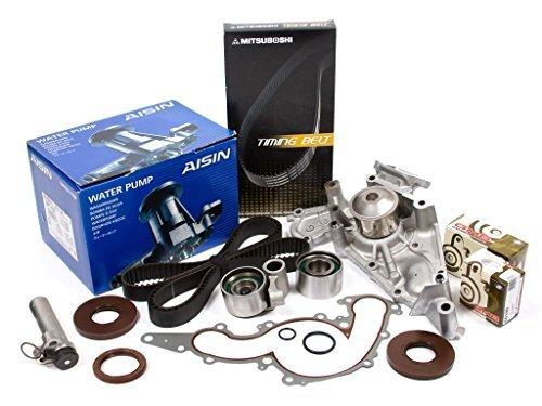 (Evergreen TBK298MHWPA Fits 98-07 Toyota Lexus 4.7 2UZFE Timing Belt Kit AISIN Water Pump)