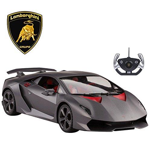(Licensed RC Car 1:14 Scale Lamborghini Sesto Elemento | Rastar Radio Remote Control 1/14 RTR Super Sports Car Model)