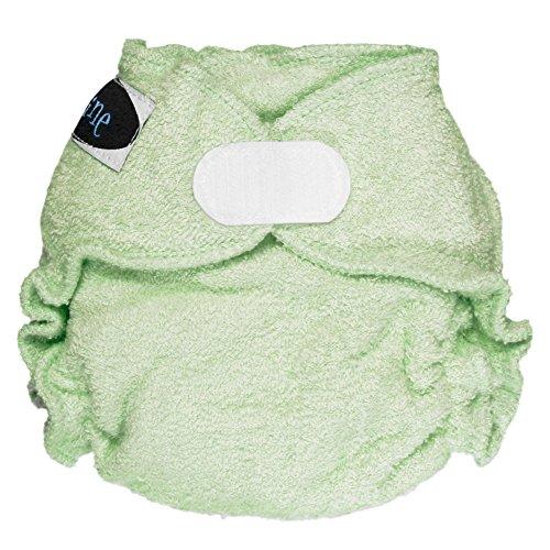 Imagine Baby Products Newborn Fitted Bamboo Diaper 2.0, Emerald, H&L ()