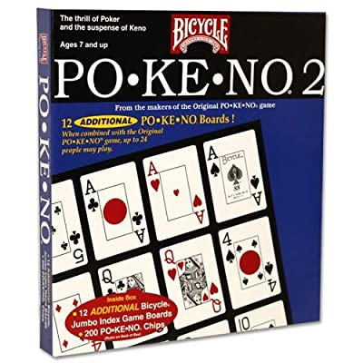 USPCC Newest Edition Po-ke-no No. 2 Card Game - Includes Bonus Deck of Cards!: Toys & Games
