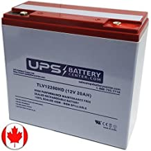 NEATA NT12-20B 12V 20Ah Deep Cycle Replacement Battery for eBikes, eScooters, Lawnmowers - Heavy Duty