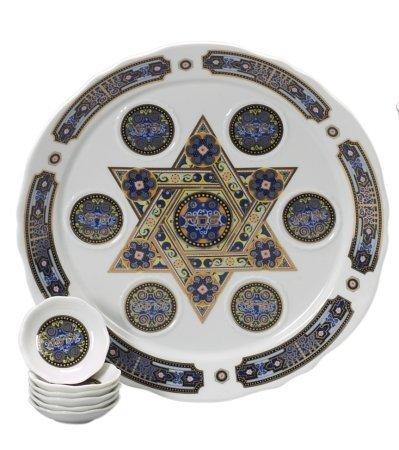 Giftmark Set NA-99 Porcelain Seder Set by GiftMark by GiftMark