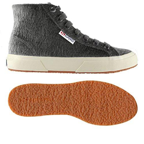 Superga 2754 Dk Zapato Grey Señoras 004 Synthorsew qUqxzp7