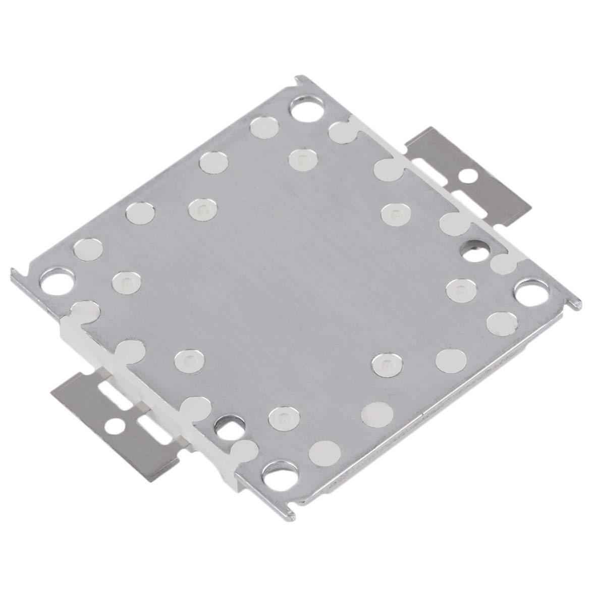 Blanco Kongqiabona Alta Potencia Blanco//C/álido Blanco 3000mA 32-35V RGB SMD Led L/ámpara de Proyector de Luz de Inundaci/ón de Chip Integrado Cuenta 100W 10000LM