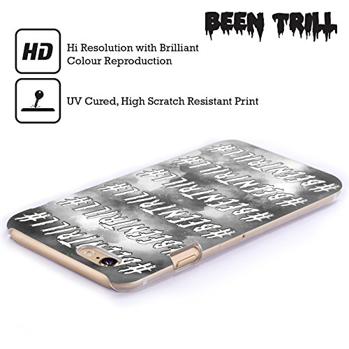 Official Been Trill Galaxy Black And White Hard Back Case for Apple iPhone 4 / 4S