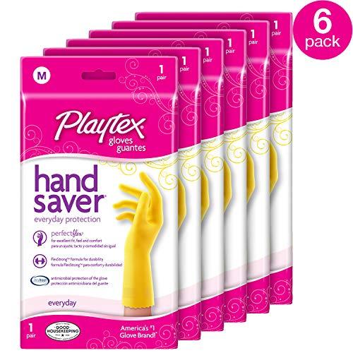 Playtex HandSaver Gloves, Medium (Pack - 6)