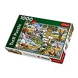 Trefl World of Animals Jigsaw Puzzle, 1000-Piece