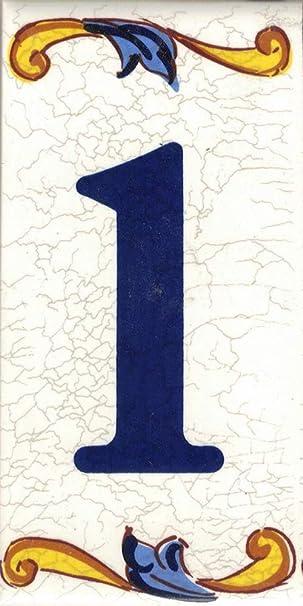 Estilo craquel/é Calca cer/ámica Nombres y direcciones LetraC Dise/ño Craquel/é Mediana 5x10 cms Numeros y Letras en azulejo TORO DEL ORO N/úmeros casa