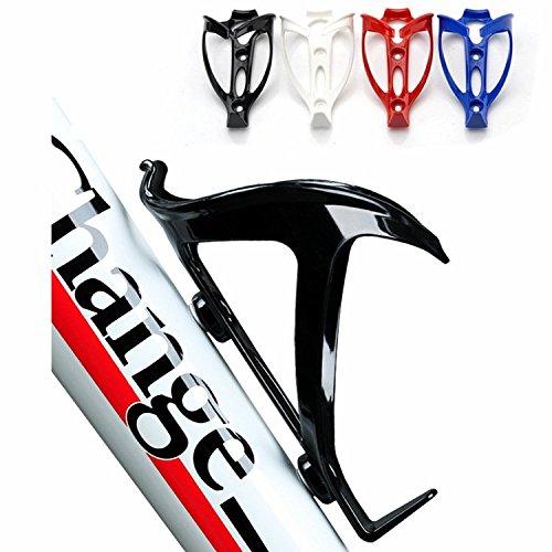 weian envío PC alta resistencia de plástico botella rack para bicicleta portavasos eléctrica Soporte para bicicleta accesorios y equipos blue (send screw): ...