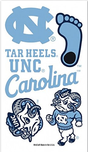 north-carolina-tar-heels-temporary-tattoos
