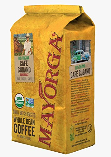 Mayorga Coffee Roasted Organic Café, Cubano Murkiness Roast, 2 Pound