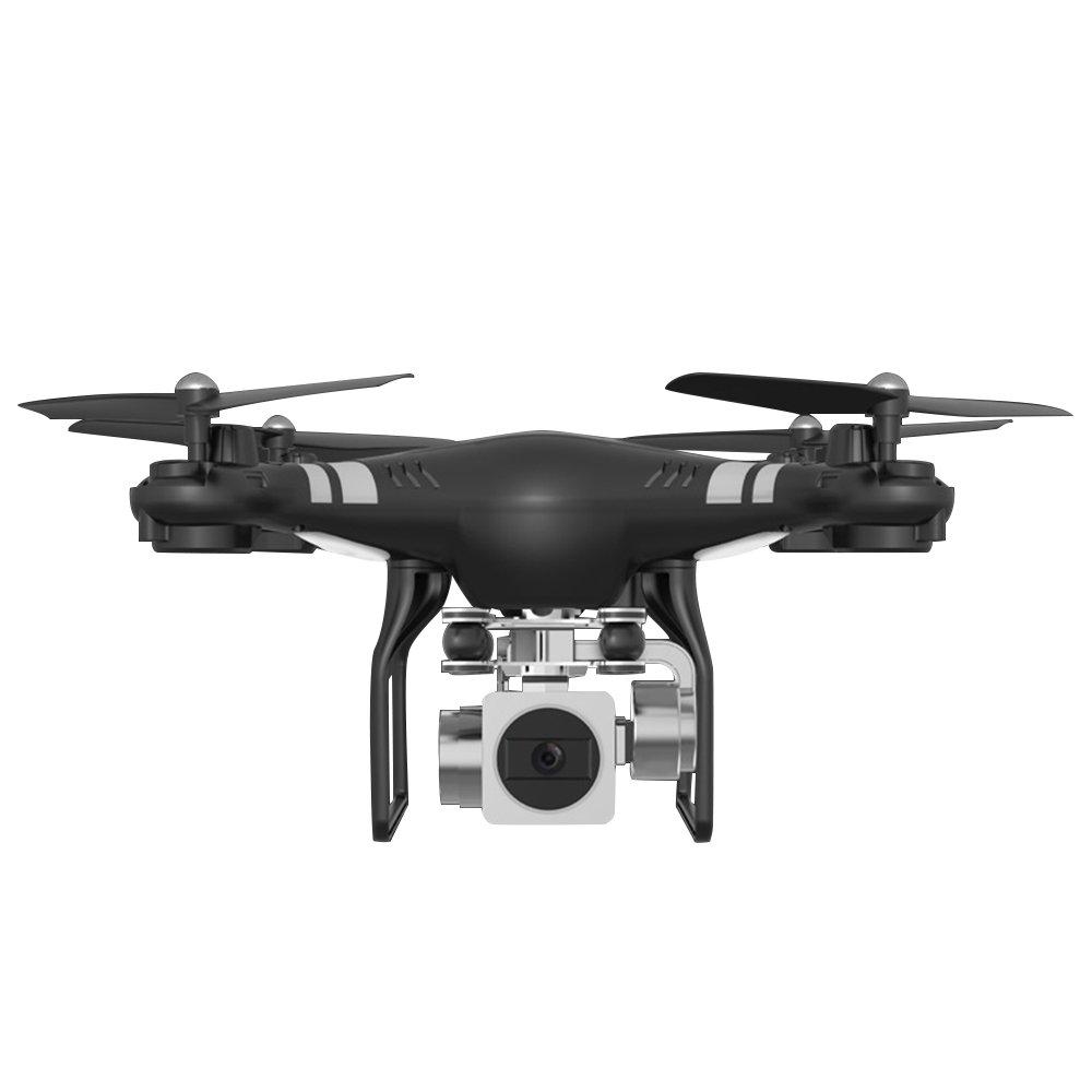 schwarz MingXiao X52HD Quadcopter Aircraft Drohne für Anfänger FPV Training Quadcopter mit HD-Kamera mit Brushless-Motor, Headless-Modus