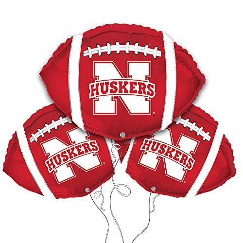Party Explosions Nebraska Football Shaped 18