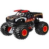 Hot Wheels Monster Jam El Toro Loco Black Die-Cast Vehicle, 1:24 Scale