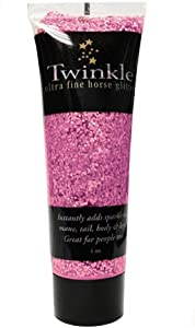 JackS Twinkle Mane & Tail Glitter Gel 4 oz Tube Horse Paint Parade Costume Paint Fun Color Sparkles