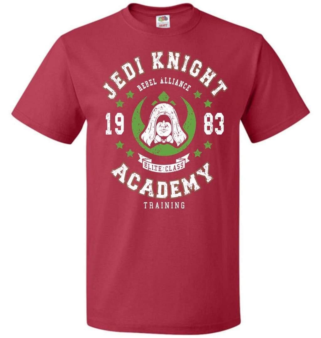 Jedi Knight Academy 83 Unisex Adult Pop Culture Graphic Nerdy Geeky Apparel Shirts