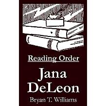Jana DeLeon - Reading Order Book - Complete Series Companion Checklist