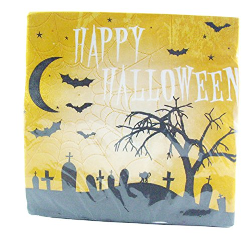 Happy Halloween Napkins 18 Count -
