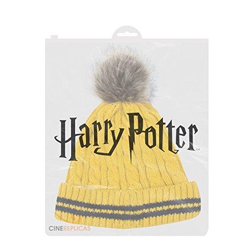 Potter Poufsouffle Cinereplicas Bonnet Pom Officiel Harry H58c7qUwcR