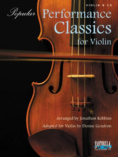 Download Popular Performance Classics for Violin with CD pdf
