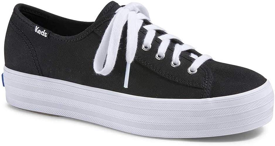 Keds womens Triple Kick Canvas Sneaker