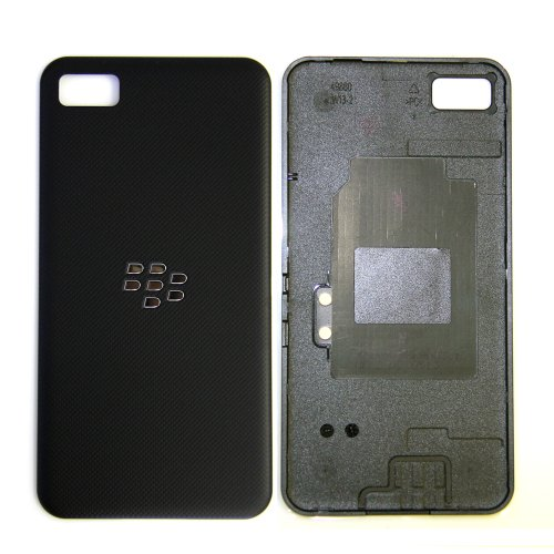 ePartSolution-New RIM BlackBerry Z10 Battery Cover Door Back Cover Housing with NFC Black Replacement Part USA Seller