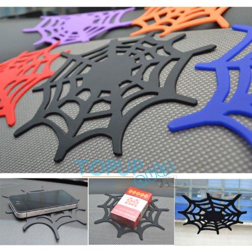 UNAKIM--Car Non Slip Mat Grip Pad Spider Web Anti Skid Dash Sheet Cell Phone Holder Net