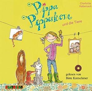 Pippa Pepperkorn und die Tiere (Pippa Pepperkorn 2) Hörbuch