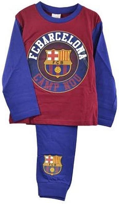 FC Barcelona - Pijama Oficial de FC Barcelona para niños (7-8 ...