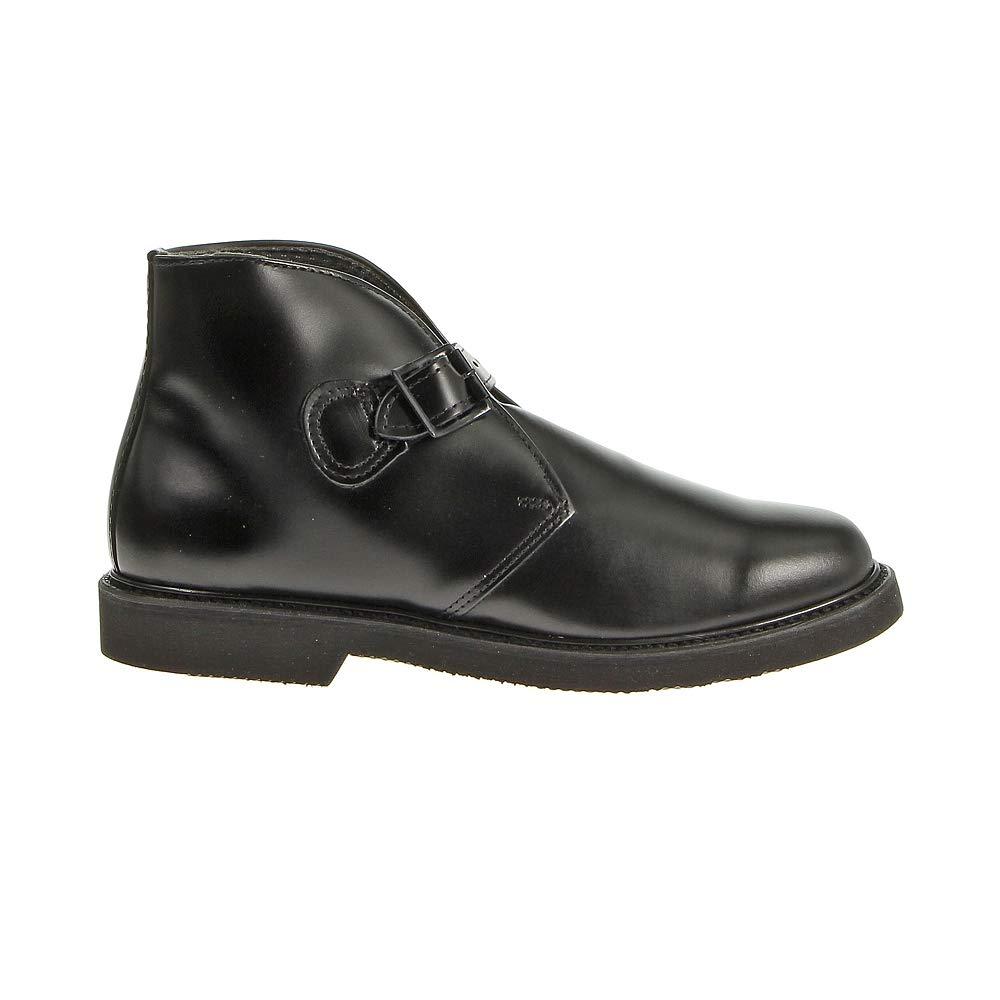 Bates Mens Lites Buckle Black Chukka Boots 10 B