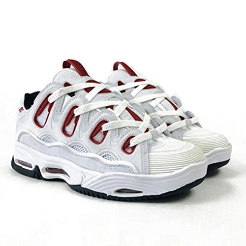 Osiris D3 2001 Shoes - White/Red/Black UK 8