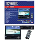 Absolute AVH-9000 7-Inch In-Dash Multimedia Touch Screen System with Detachable Front Panel Face and USB/SD Slot