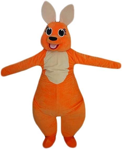 Langteng Naranja Canguro Mascota Disfraz Cartoon (TM): Amazon.es ...