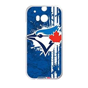 Happy Toronto Blue Jays Fashion Comstom Plastic case cover For HTC One M8