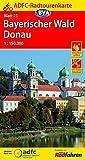ADFC-Radtourenkarte 23 Bayerischer Wald Donau 1:150.000, reiß- und wetterfest, GPS-Tracks Download (ADFC-Radtourenkarte 1:150000)