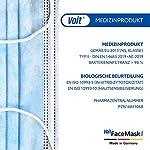 Voit-Medizinische-Gesichtsmaske-Typ-II-50-Stck-3-lagig-Einwegmasken-Atmungsaktive-Mund-Nasen-Masken-mit-Ohrenschlaufen-Made-in-Germany