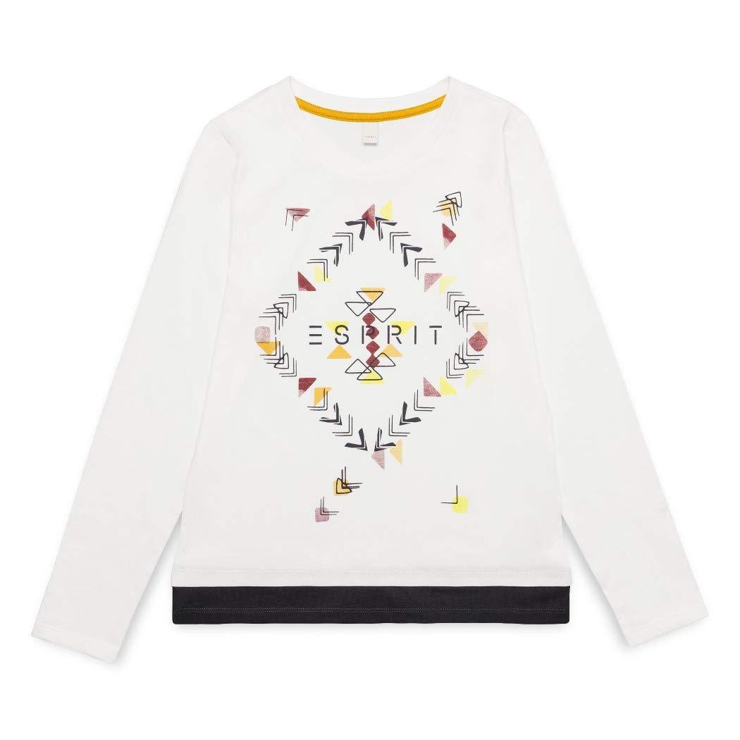 ESPRIT KIDS Mä dchen Langarmshirt T-Shirt Ls Ikat RM1029510