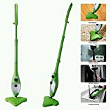 Ceny H2O Steam Cleaner Mop X5 5-in-1 Steamer with Handsfree Cradle Accessory As Seen on TV Green